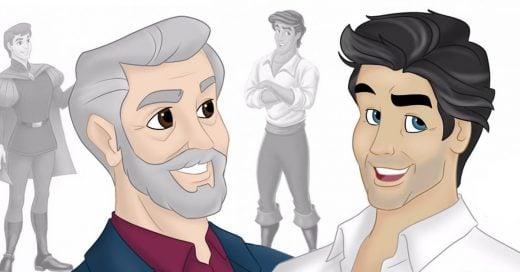 Artista dibuja como se verían los personajes de Disney actualmente
