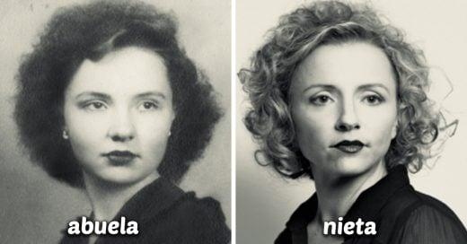 25 Veces que las personas recrearon las fotos de sus abuelos y el resultado es genial