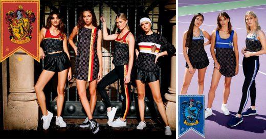 Esta nueva línea de ropa inspirada en 'Harry Potter' te hará desear ir al gym por acto de magia