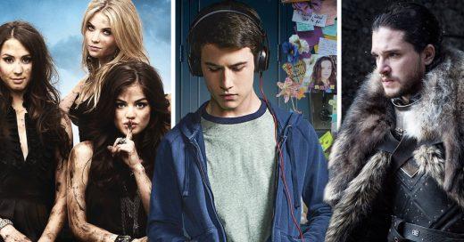 Las 10 series más vistas de este 2017