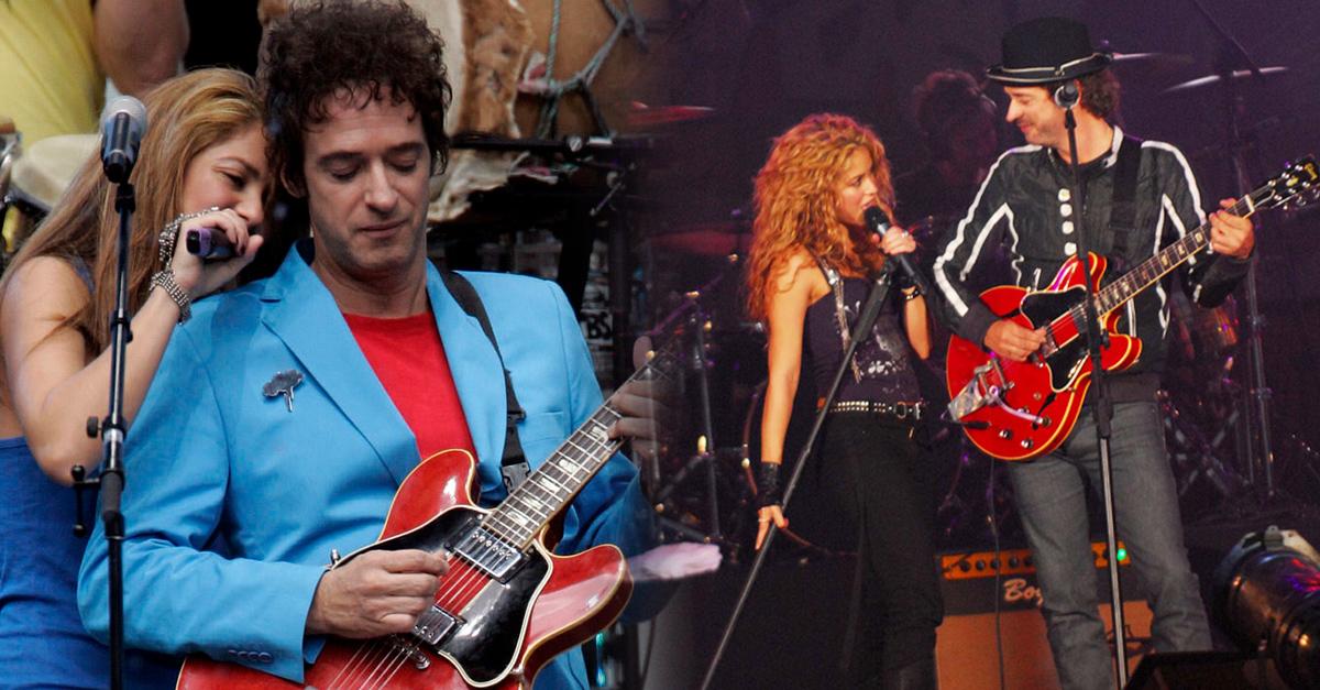 Shakira amaba en silencio a Gustavo Cerati, pero prefirió ser su amiga
