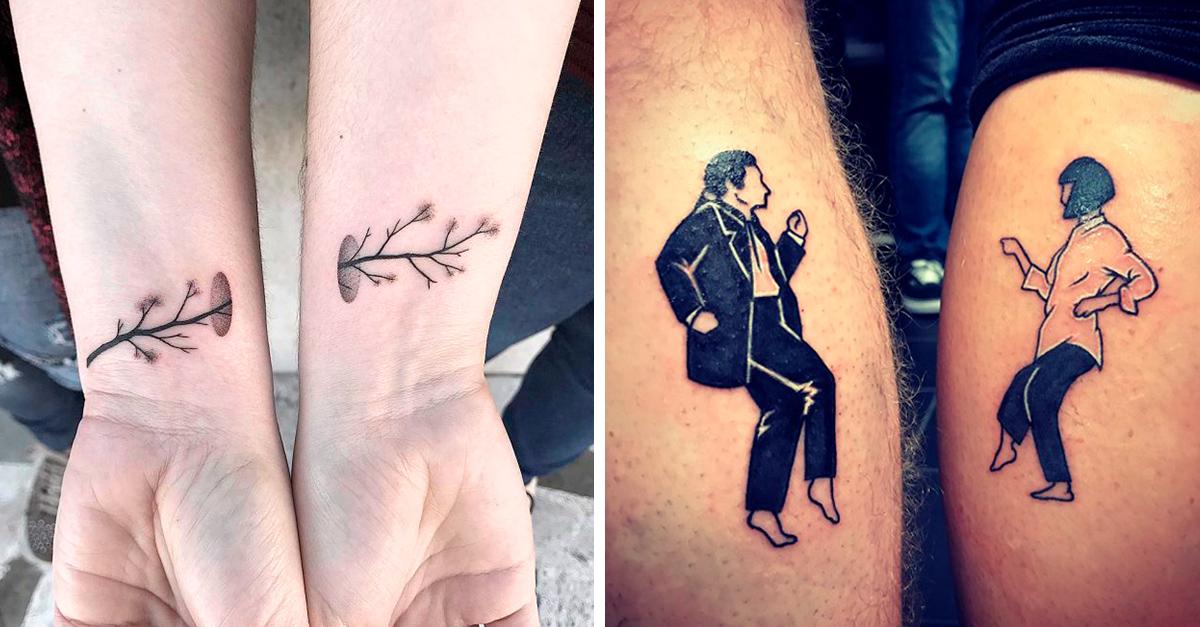 Tatuajes para parejas que marcan su gran amor en la piel