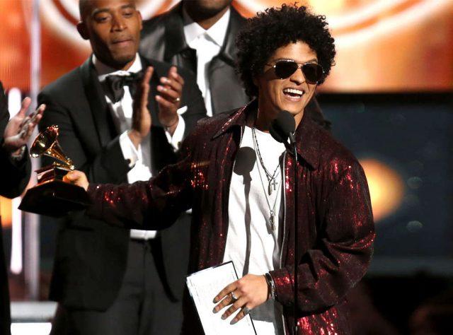 Bruno Mars wins