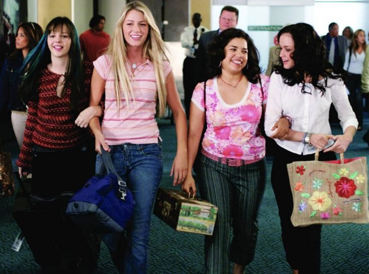 Carmen, Lena, Tybby y Bridget de The Sisterhood of the Traveling Pants