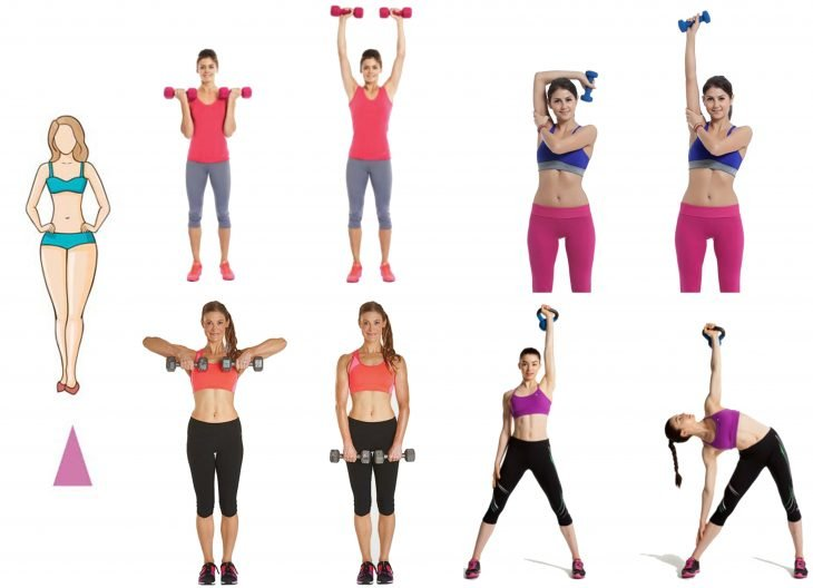 Cuerpo de triangulo ejercicios