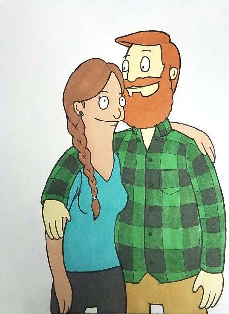 Kells O'Hickey y su novia BOB'S BURGUER