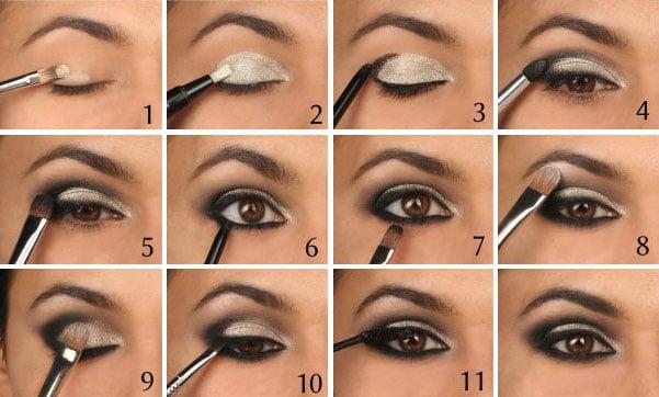 20 tutoriales paso a paso maquillar tus ojos como experta for Pintarse los ojos facil