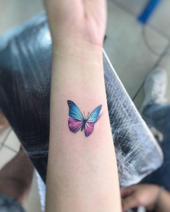 25 Tatuajes De Mariposas Que Te Haran Lucir Super Chic - Mariposas-tatuaje