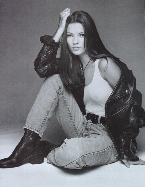 Kate Moss para Calvin Klein 1992