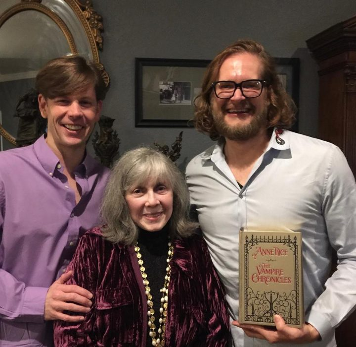 Anne Rice, Christopher Rice y Bryan Fuller