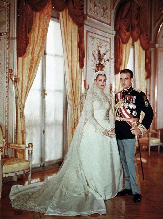 Grace Kelly vestido de novia