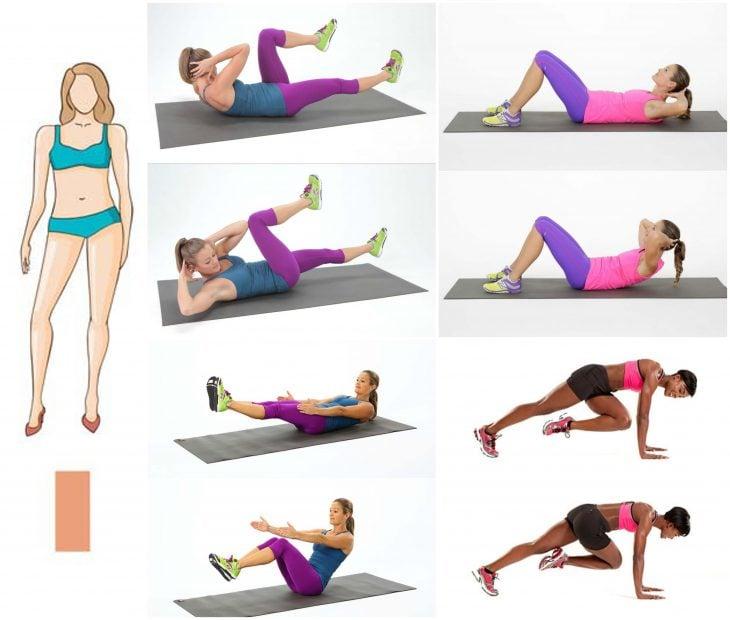 cuerpo de rectangulo ejercicios