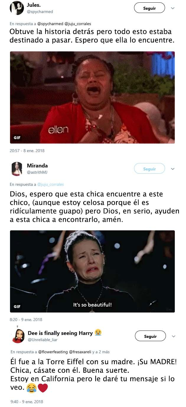 CHICA BUSCA A CHICO POR MEDIO DE TWITTER