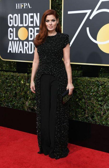 Debra Messing golden globes 2018