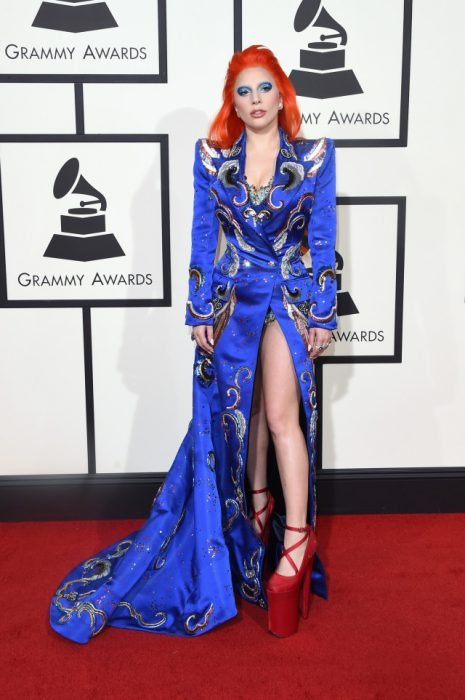 The Grammy Awards, 2016. lady gaga