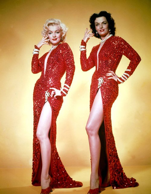 lorelei y dorothy gentlemen prefer blondes