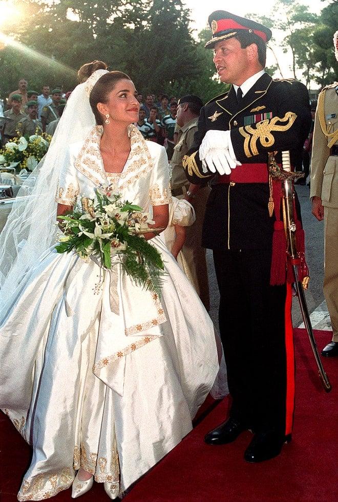 Vestido de novia corte reina