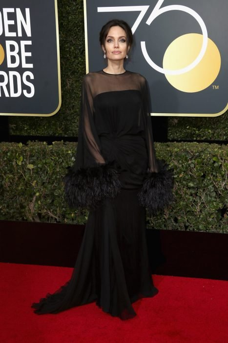 75th Annual Golden Globe Awards - Angelina Jolie