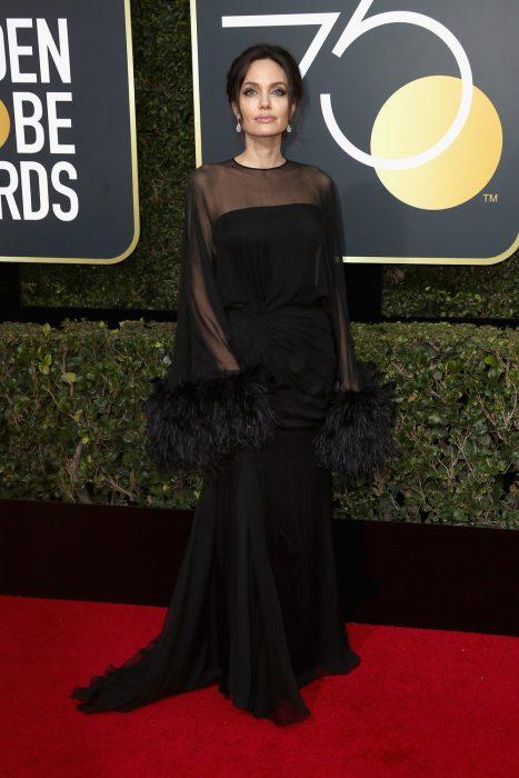 75th Annual Golden Globe Awards - Angelina Jolie