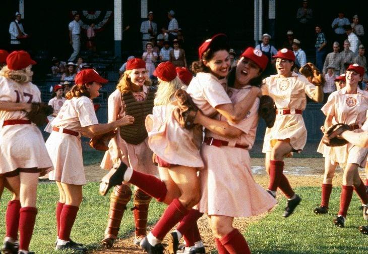 Dottie, Mae, Kit, Doris, Helen, BettySpaguetti... enA League of their Own