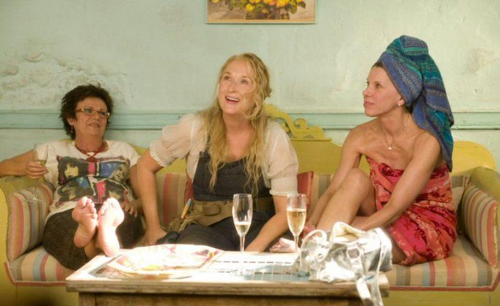 Donna,Rosie yTanya deMamma Mia!