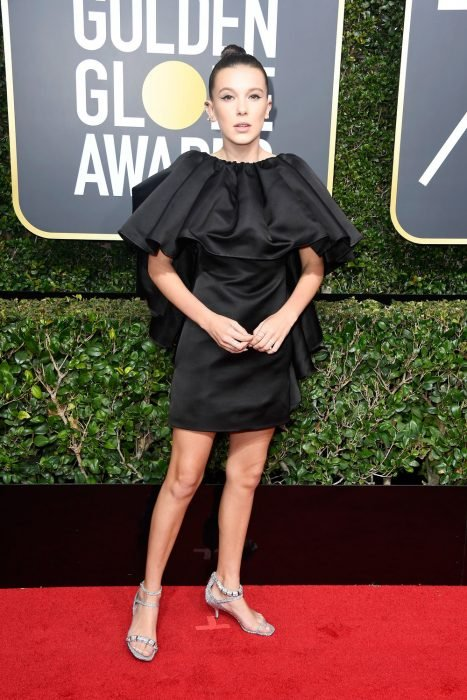 75th Annual Golden Globe Awards - Millie Bobby Brown