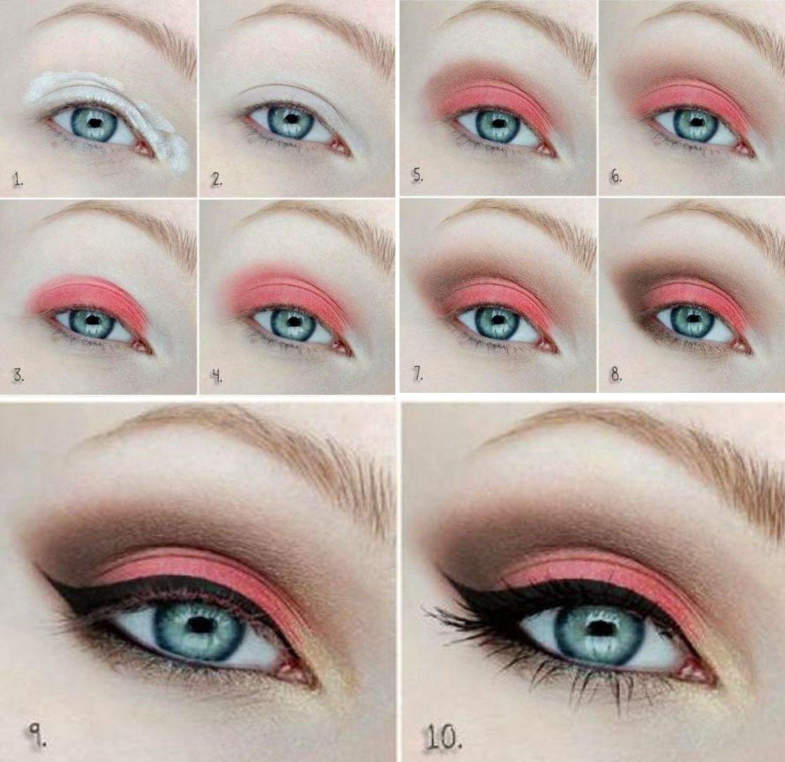 20 Tutoriales Paso A Paso Maquillar Tus Ojos Como Experta