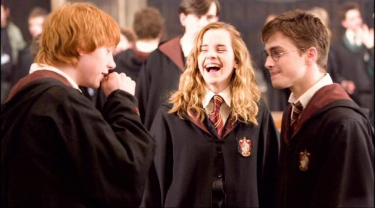 Hermione, Ron y Harry