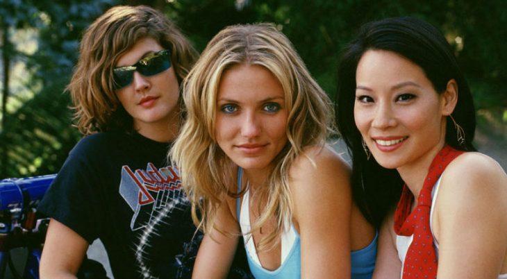 Natalie, Dylan y Alex de Charlie's Angels
