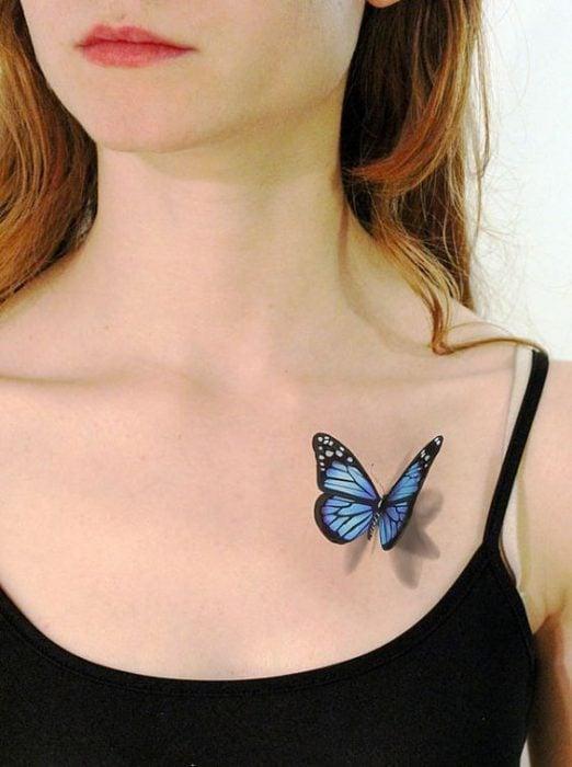 Tatuaje mariposa