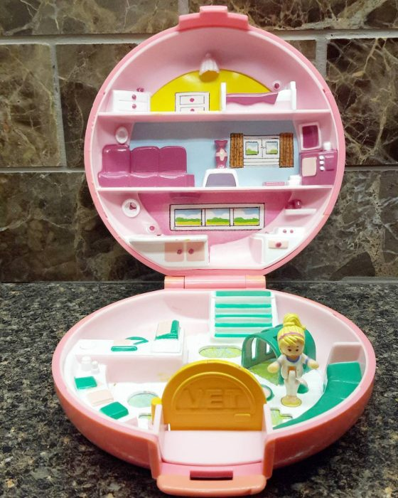 estuche de Polly Pocket