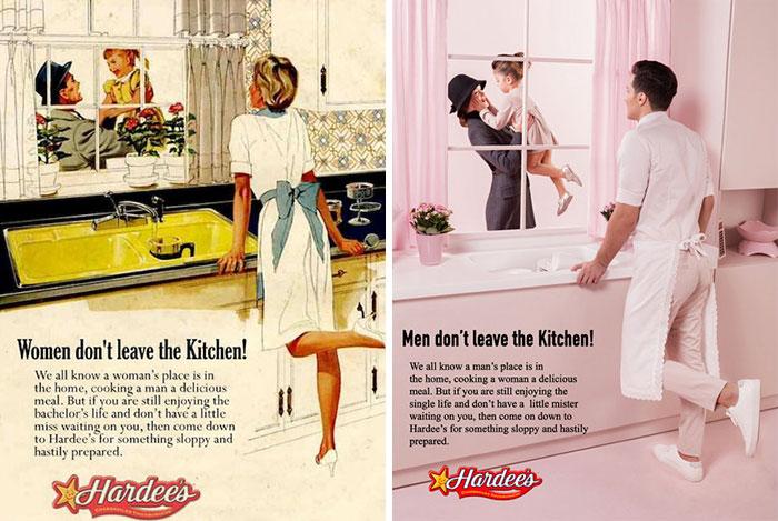 Anuncios de los años 50 para demostrar lo absurdo de los estereotipos