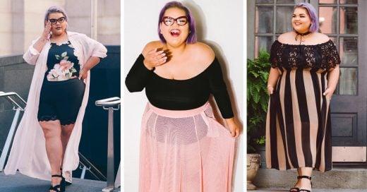 Esta chica creó una linea de ropa para mujeres plus size y es hermosa