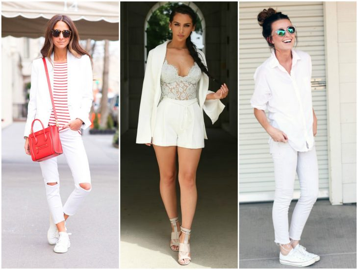 outfits blancos