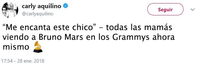 Bruno mars Tuit