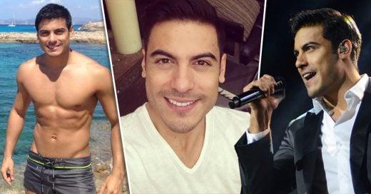 Carlos Rivera el guapo cantante latino con una sonrisa súper sexi