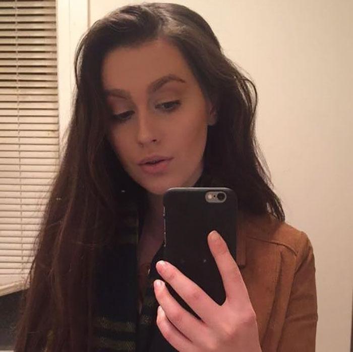 Chica que sufrió de acoso en su lugar de trabajo