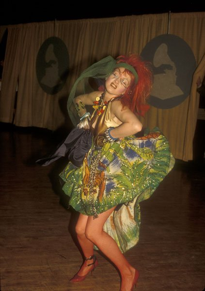 Cindy Lauper 1984 grammy