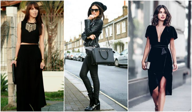 outfits en negro