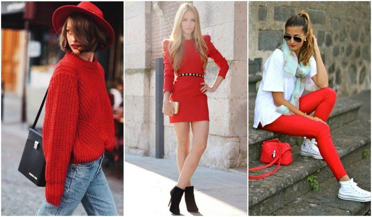 outfits en rojo