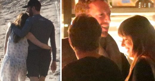 Dakota Johnson y Chris Martin enamorados