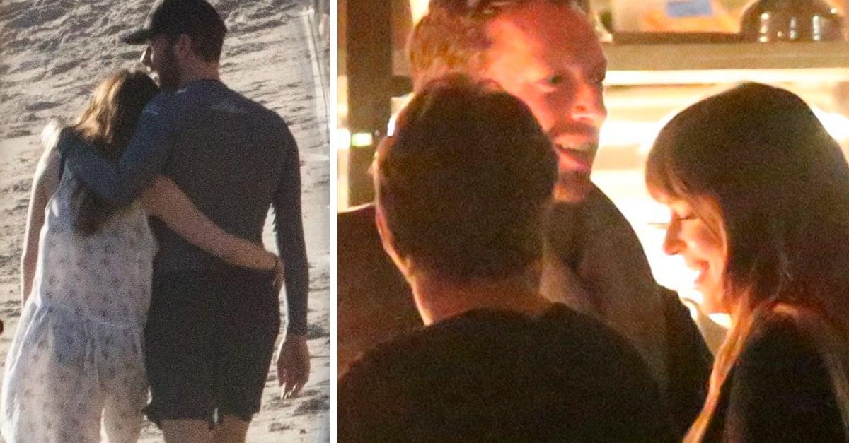 Dakota Johnson y Chris Martin enamorados