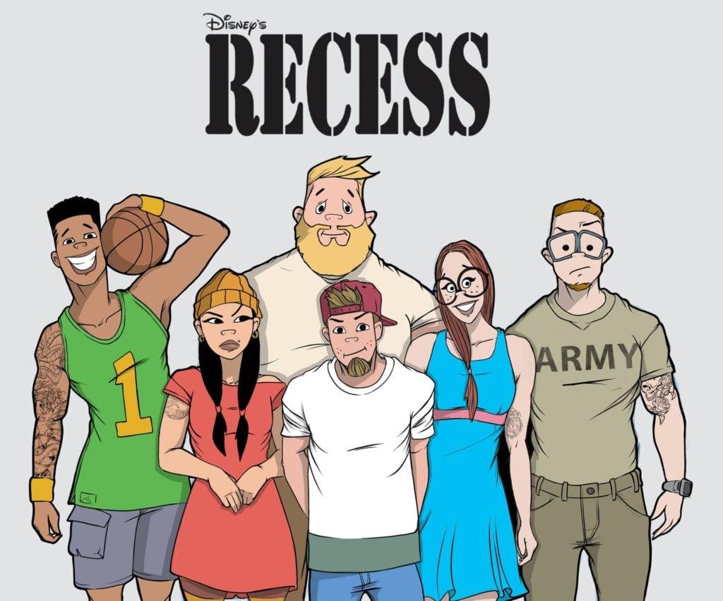 recreo girls Recreo una de mis caricaturas favoritas y quise hacer mi versión de ellos :.