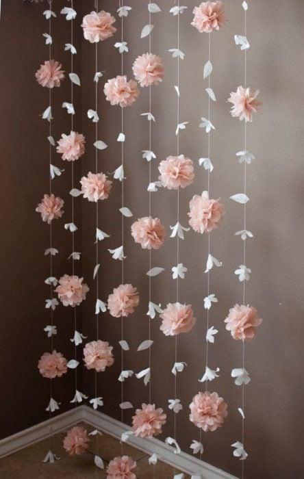 guirnalda de flores