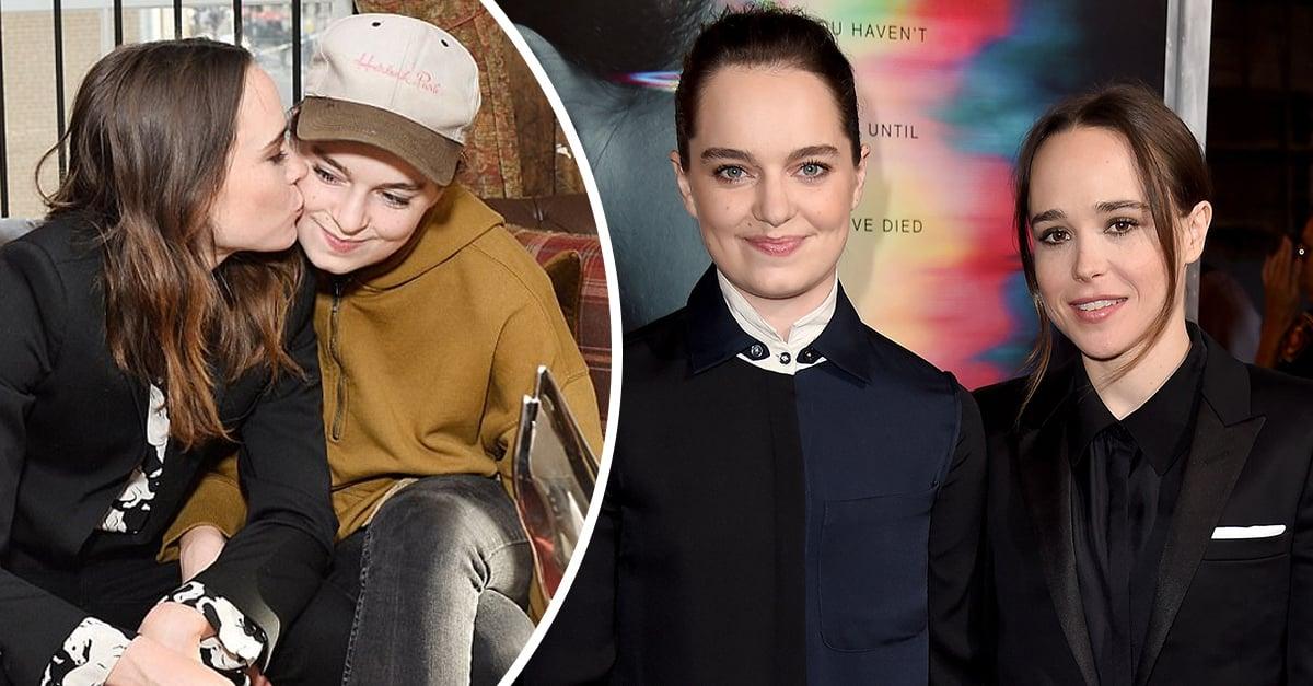 Ellen Page recibe el 2018 casándose en secreto con una bailarina