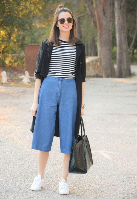 Claves para usar un pantalón ancho