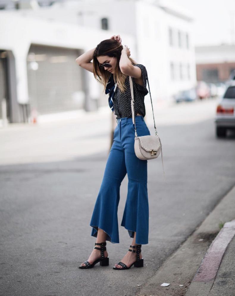 Moda a lo ancho: Claves para poder usar pantalones anchos