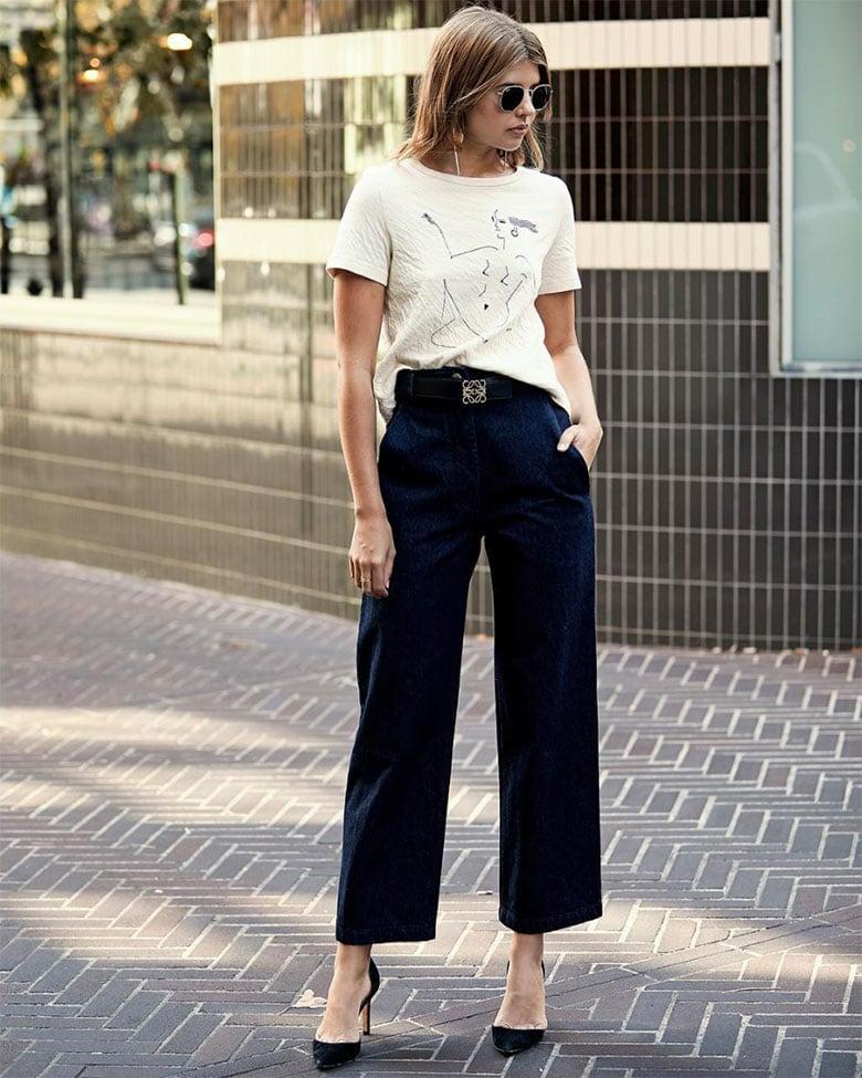 Moda a lo ancho  Claves para poder usar pantalones anchos 065be5aba1d6