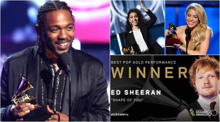 Ganadores Grammy 2018