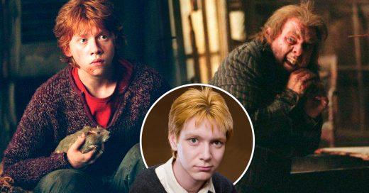 George Weasley explicó por qué nadie notó en el mapa de los medeoradores que Peter Pettigrew acompañaba a Ron